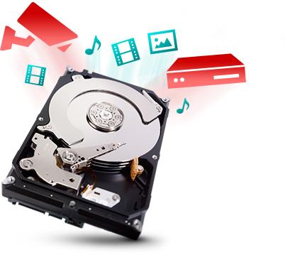 Система хранения данных SEAGATE SV35 для видеонаблюдения
