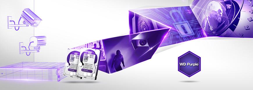 Жёсткие диски WD Purple